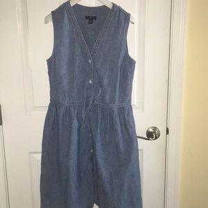 Gap chambray dress